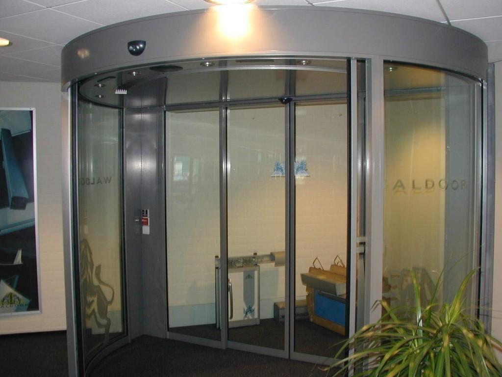 Automatic doors