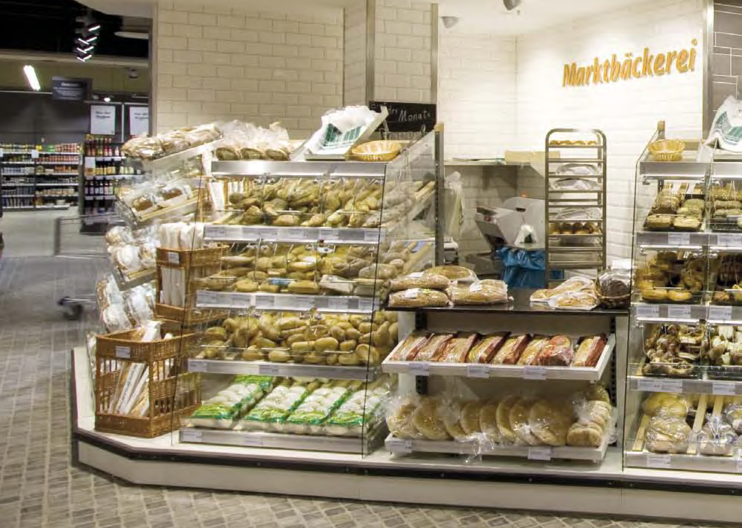 Shelves for Bakery products